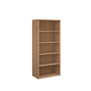 TRIOS WOODEN BOOKCASE 1800 X 938 X 350MM BEECH