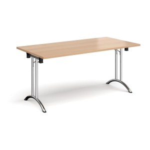 RECTANGULAR FOLDING TABLE BEECH