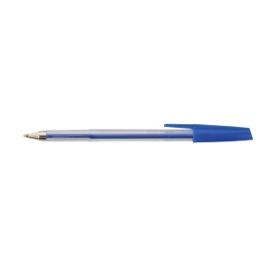 FOCUS MEDIUM POINT BALL PEN BLUE - BOX OF 50