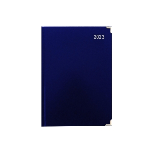 LYRECO PREMIUM DIARY A4 BLUE - PAGE A DAY