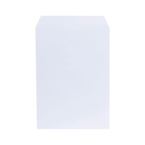 LYRECO ENVELOPES WHITE C4 100GSM PEEL AND SEAL - BOX OF 250