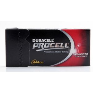 BX10 INDUSTRIAL BATTERY LR03 AAA 15V (DURACELL BRAND)