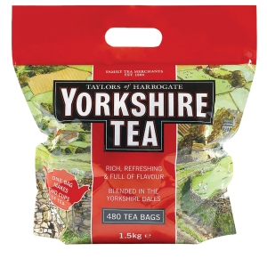 YORKSHIRE TEA BAGS - PACK OF 480