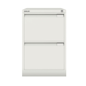 BISLEY CHALK 2-DRAWER FOOLSCAP FILING CABINET