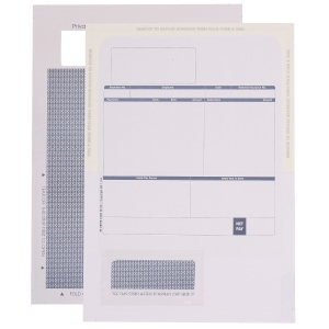 SAGE COMPATIBLE SEALABLE PAYSLIP - BOX OF 500