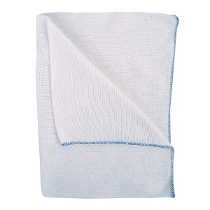 BLUE COLOUR CODED DISH CLOTHS - PACK OF 10