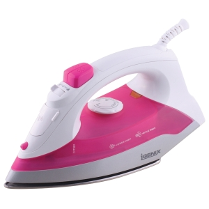 1200W PINK AND WHITE STEAM IRON