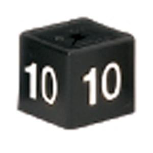 PK50 MINICUBE SIZ 10 WHITE / BLACK BARNARDOS