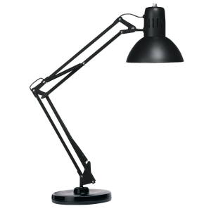 UNILUX SUCCESS FLUORESCENT DESK LAMP BLK