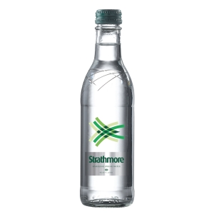 STRATHMORE SPARKLING WATER GLASS BOTTLE 300ML - PACK OF 24