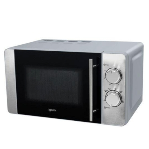 20 LITRE 800W MANUAL STAINLESS STEEL MICROWAVE