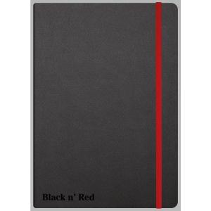 BLACK N RED 33673 NOTE BOOK RULED A5 BLACK