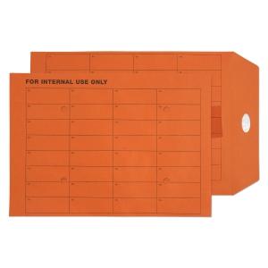 ORANGE C4 INTERTAC SEAL INTERNAL MAIL ENVELOPES 85GSM - BOX OF 250