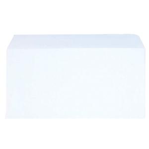 LYRECO BUDGET WHITE DL SELF SEAL PLAIN ENVELOPES 80GSM - BOX OF 1000