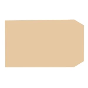 LYRECO manilla 3 1/2 X 6INCH GUMMED PLAIN ENVELOPES 70GSM - BOX OF 1000