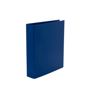 LYRECO BLUE A4 4D-RING BINDER 50MM CAPACITY