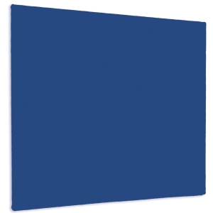 BLUE UNFRAMED FELT NOTICE BOARD 1200MM X 900MM