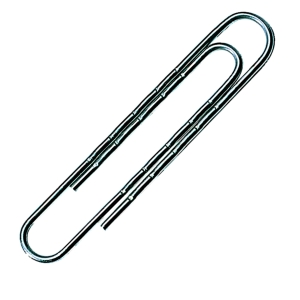 PAPER CLIPS GIANT PLAIN 51MM - BOX OF 100
