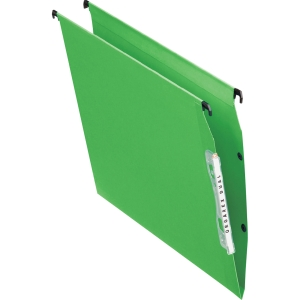 ESSELTE PENDAFLEX GREEN A4 LATERAL SUSPENSION FILES V BASE - BOX OF 25