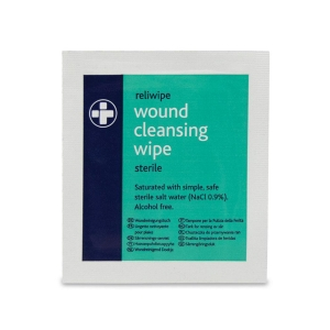 STERILE WOUND CLEANSING WIPES INDIVIDUALLY WRAPPED (PACK OF 100)