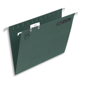 ELBA VERTICFILE ULTIMATE SUSPENSION FILES V BASE F/SCAP GREEN - BOX OF 50