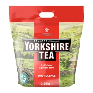 YORKSHIRE TEA BAGS 1 CUP - PACK OF 1200