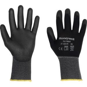 HONEYWELL PU FIRST HANDLING GLOVE BLACK SIZE 9 (PAIR)