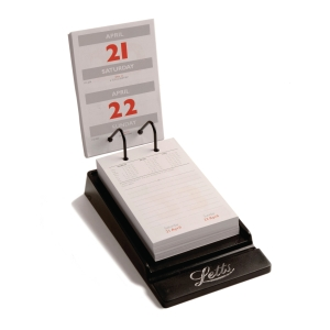 LETTS SYSTEM DESK CALENDAR 130 X 90MM - PAGE A DAY