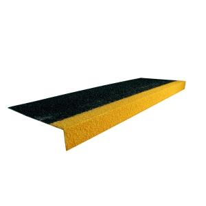 COBAGRIP STAIR TREAD BLACK/YELLOW 1MX345MMX55MM
