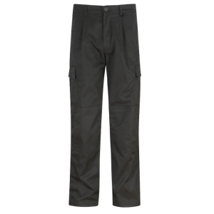 ALSICO HEAVYWEIGHT COMBAT TROUSERS BLACK 34   WAIST 31   REG LEG