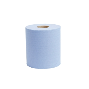 BLUE 1 PLY 190MMX300M CENTREFEED ROLL 1 PLY - PACK OF 6