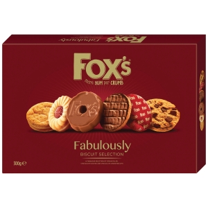 FOX S FABULOUSLY BISCUITS 300G
