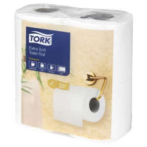 PK40 TORK 120240 EXTRA SOFT TOILET ROLL