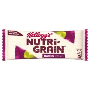 KELLOGGS NUTRI GRAIN RAISIN BAKES - PACK OF 24