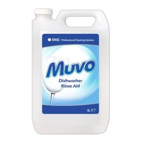 MUVO PROFESSIONAL DISHWASHER RINSE AID 5 LITRE