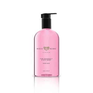 MOSS AND ROWE PINK GRAPEFRUIT AND ACAI BERRY HAND WASH 400ML