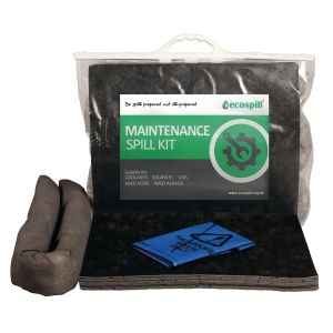 ECOSPILL M1290015 PREMIER MAINTENANCE CLIP TOP SPILL KIT 15L