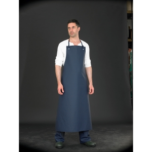 ALPHA SOLWAY CHEMICAL APRON 48X36 BLUE