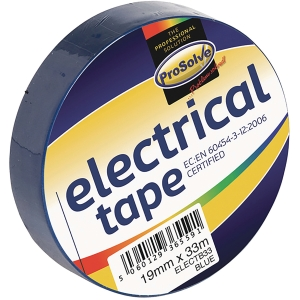 ROLL ELECTRICAL INSULATIONTAPE 19MM 33MTR BLUE