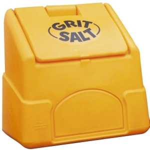 200LITRE GRIT SALT BIN YELLOW 6 CUBIC FEET