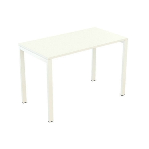 PAPERFLOW EASYDESK WHITE COMPACT DESK 1140MM X600MM