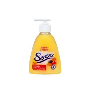 SENSES HAND WASH MANGO AND PAPAYA EXTRACT 300ML