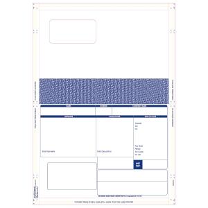 BOX500 PEGASUS COMPATIBLE A4 1 PART LASER SECURITY PAYSLIP SEAL & MAIL