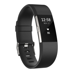 FITBIT CHARGE HR TRACKER LARGE BLACK