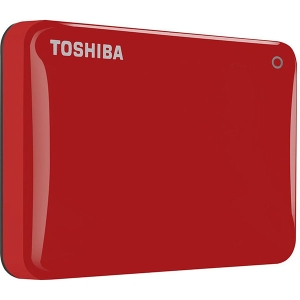 TOSHIBA 500GB CANVIO CONNECT II - RED