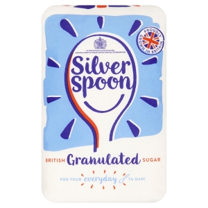 SILVER SPOON SUGAR 2KG BAG WHITE