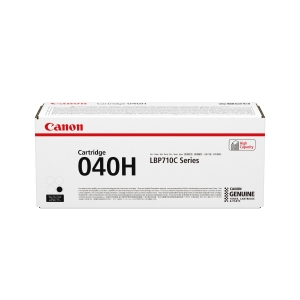 CANON 040H HIGH YIELD LASER CARTRIDGE BLACK