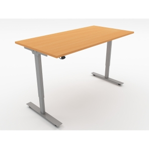 ASCEND SIT STAND DESK W1000 BENCH