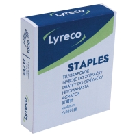 LYRECO NO.23/17 STAPLES - BOX OF 1000