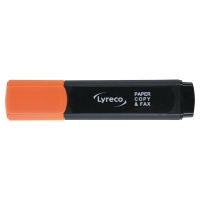 LYRECO HIGHLIGHTER ORANGE - BOX OF 10
